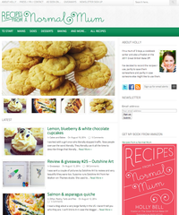 Recipes from a Normal Mum August 2014