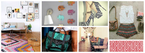Tribal Trend mood board