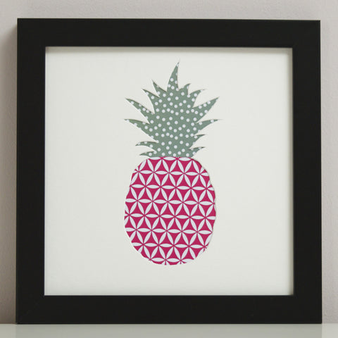 Pineapple Cut-Out Artwork