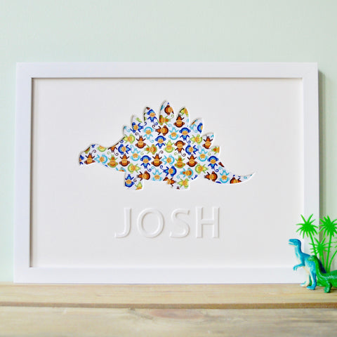Personalised Dinosaur Artwork