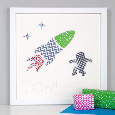 Personalised Rocket Man Artwork