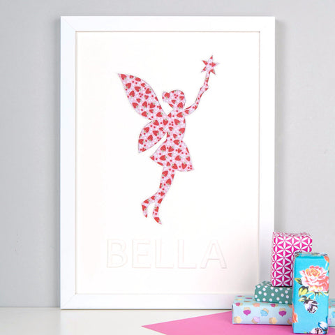 Personalised Fairy Artwork