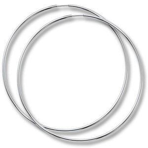 1.50 mm Sterling Silver Endless Hoop