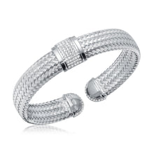 Load image into Gallery viewer, Lauren Reversible 12MM Charles Garnier Cuff