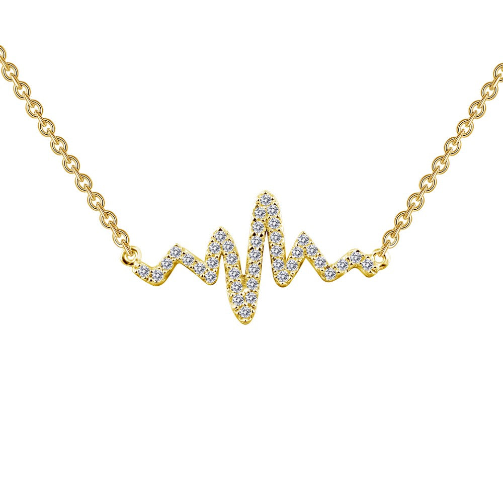 0.39 ct tw Heartbeat Necklace