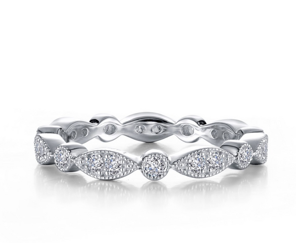 Marquise & Round Eternity Band
