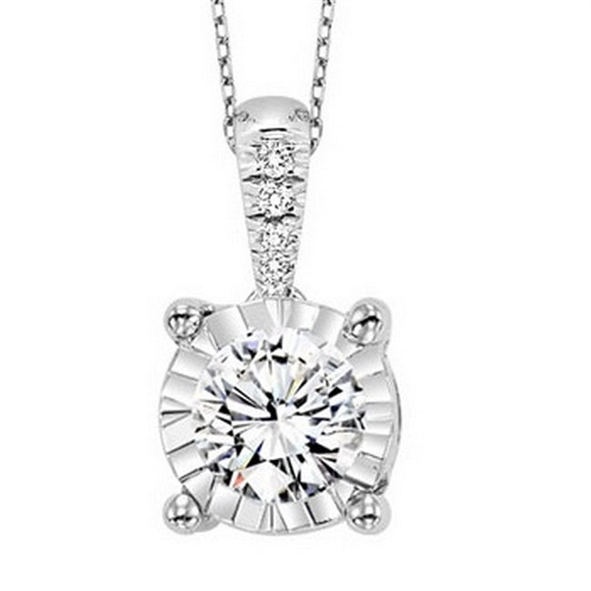 Tru-Reflection Diamond Pendant
