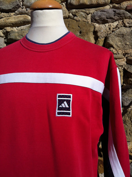 Vintage rare Meshed Adidas Pullover