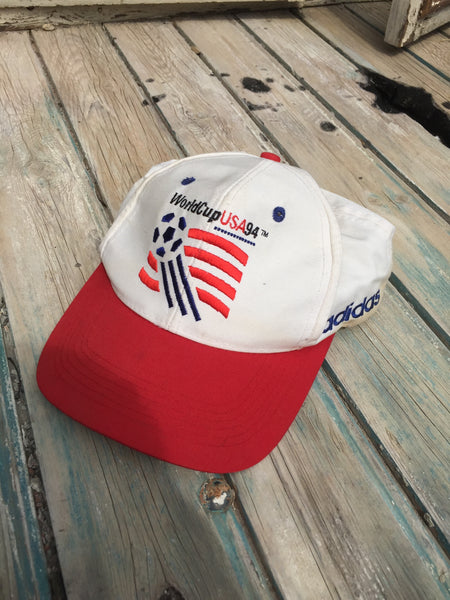 Vintage 94' Adidas x US World Cup Cap