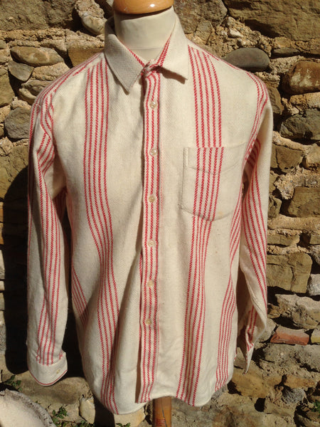 Vintage Wool Ted Lapidus over- Shirt (M)
