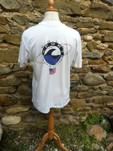 Vintage rare Waves Polo Sport Top