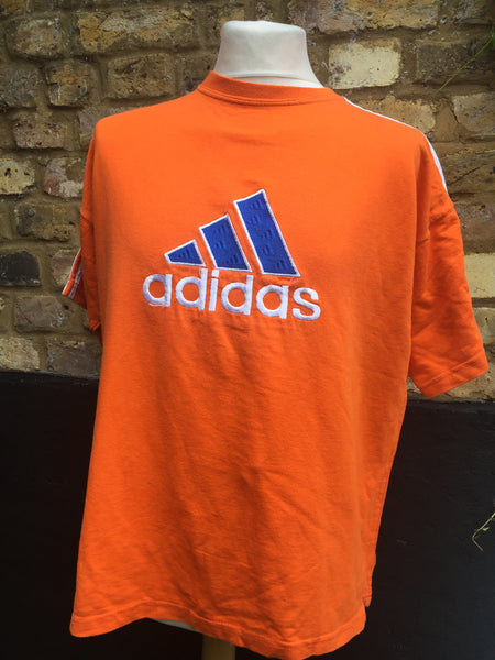 Vintage Orange Adidas performance Top (S/M)