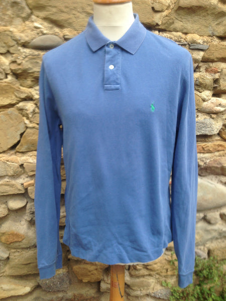 Sky Blue Polo long sleeve (S)