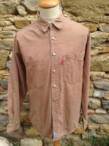 Vintage Brown Levi's Shirt (M/L)