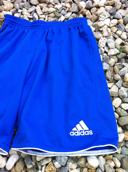 Deep Blue Adidas Track Short's