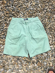 Vintage Pastel Green Polo County Shorts (M/L)