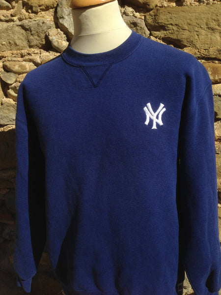 Vintage thick NY R. Athletic Sweater (S)