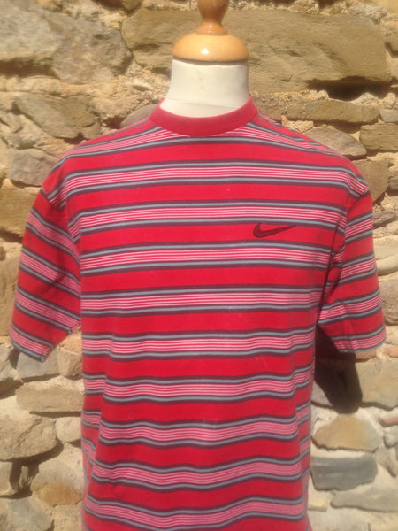 Vintage Cherry striped Nike Top
