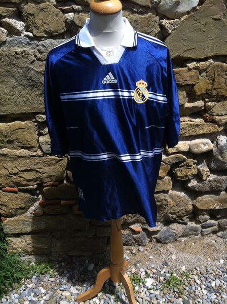 Vintage Adidas x Real Madrid Shirt 98-99