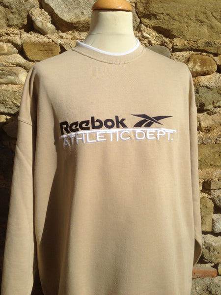 Vintage Reebok Athletic Dep. Sweater