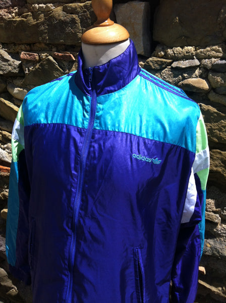 Vintage Retro Adidas Windbreaker