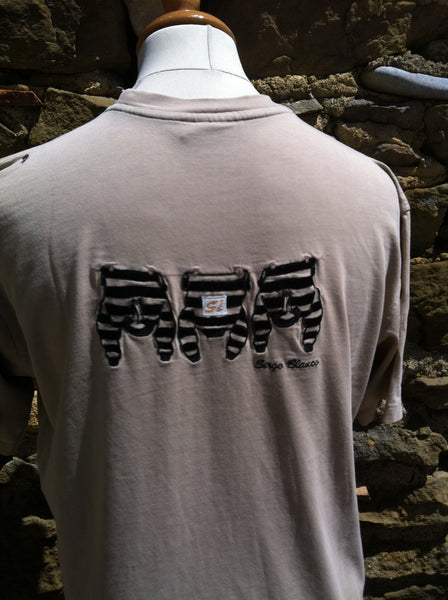Vintage tanned Washing Line Serge Blanco Top