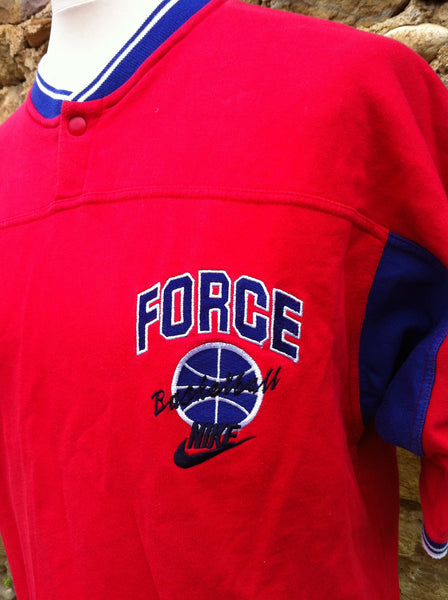 Vintage Nike Force Basketball Jersey Jumper