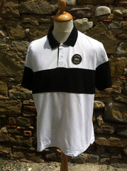 Black & White Lacoste Polo