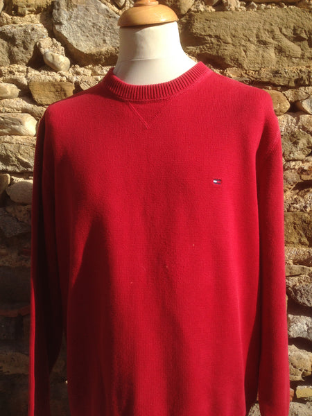 Cherry Hilfiger Knit (M/L)