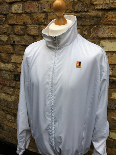 Vintage White Nike Court Light Jacket