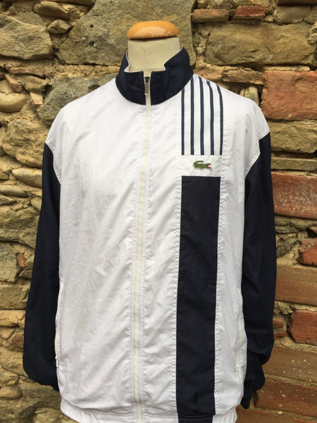 Vintage Blue lined Lacoste Windbreaker (L)