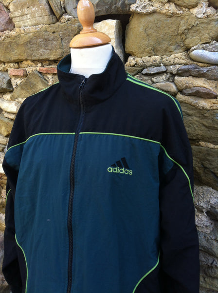 Vintage mixed Green Adidas Track Jacket