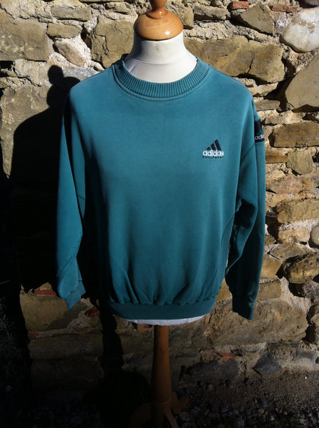 Vintage pastel Green Adidas E. Sweater