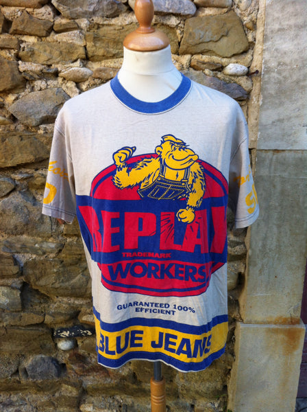 Vintage Relay Trademark Worker's Top