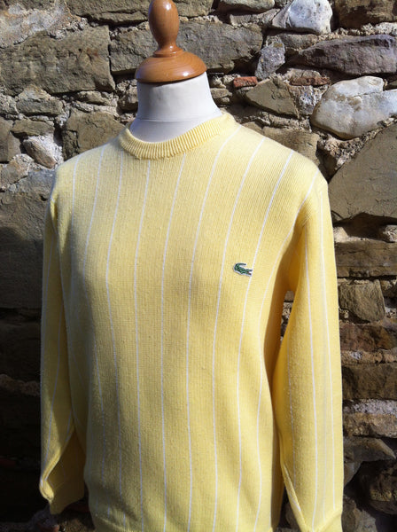 Vintage candy Yellow Lacoste Knitwear