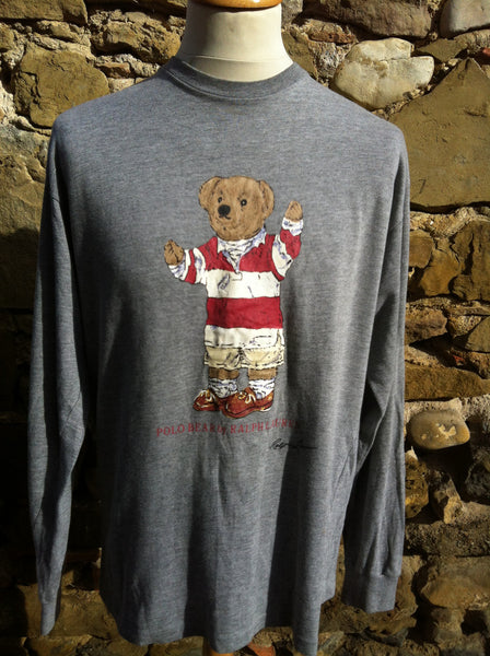 Vintage Polo Bear long sleeve Top