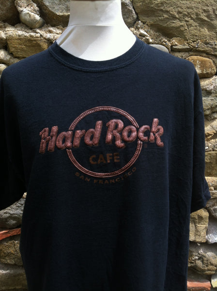 Vintage leather like Hard Rock Cafe Top