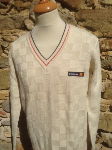 Vintage early Ellesse Knit (S)