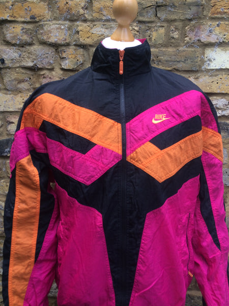 Vintage tropical Nike Windbreaker (M)