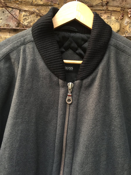 Wool Hugo Boss Bomber (XL)