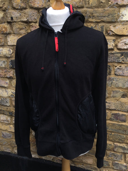 Heavy Prada zip up (S/M)