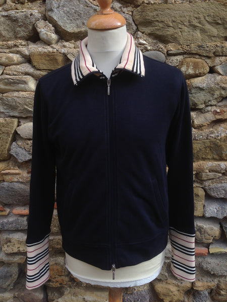 Womens Burberry track zip up (S)