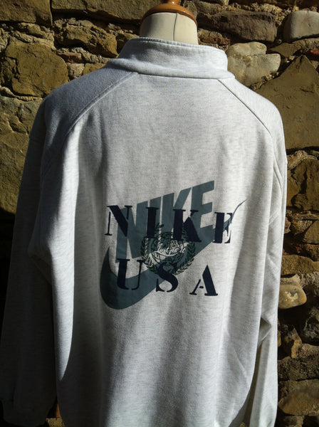 Vintage Nike USA 1/4 Sweater