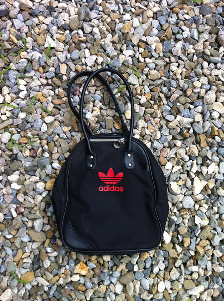 Vintage Adidas Bowling Ball Type Overhaul bag