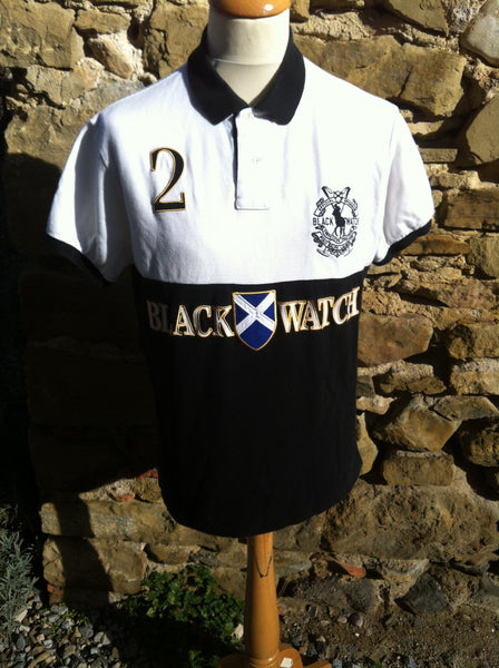 Polo Black Watch Shirt (S/M)