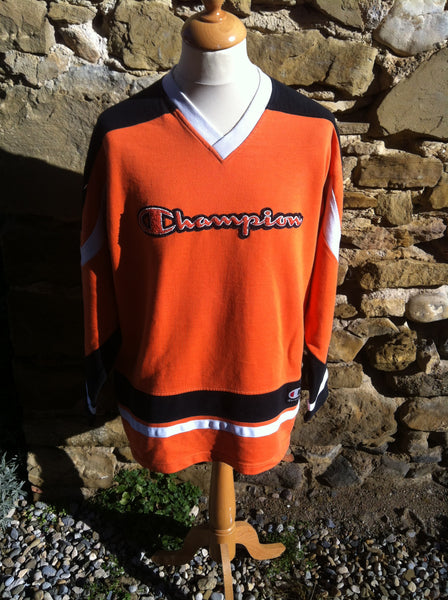 Vintage early Orange Champion Sweater