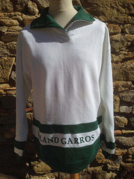 Vintage Roland Garros Paris Sweater (L)
