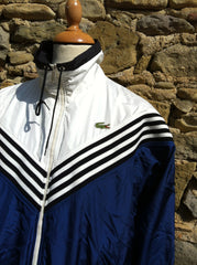 Vintage Heavy Navy split Lacoste Jacket