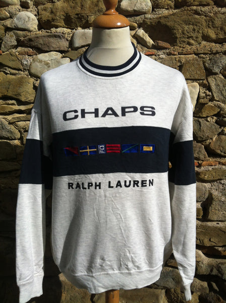 Vintage Nautical Chaps Ralph Lauren Sweater
