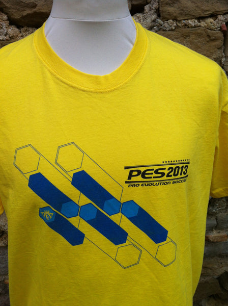 PES Yellow Print Top